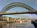 View from Newcastle Swing Bridge, 1976 (24226393495).jpg