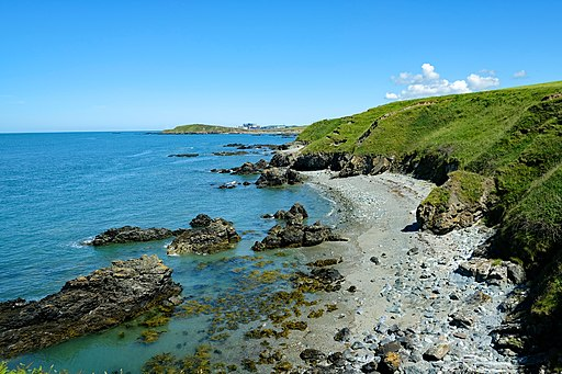 View from the Anglesey Coastal Path (geograph 6222502)