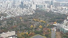 View of Aoyama Cemetery from Roppongi Hills Mori Tower - Dec 2019 - 1.jpg