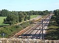 View of railway line from bridge - geograph.org.uk - 546430.jpg