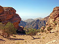 View to Jordan Rift from Ad-Deir vicinity, Petra.jpg