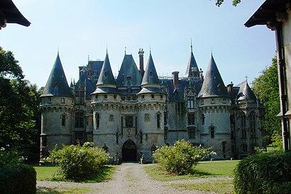 Como chegar até Château de Vigny com o transporte público - Sobre o local