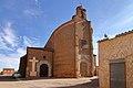 Villafáfila, Iglesia de Santa Maria, fachada suroeste.jpg