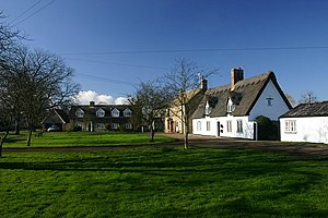 Wicken, Cambridgeshire - Image: Village Green, Wicken geograph.org.uk 331987