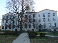 Alumni Hall, one of the oldest buildings on campus.