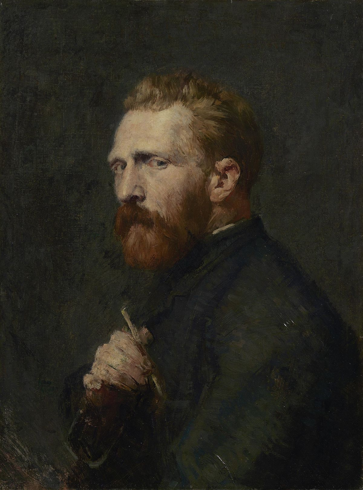 Vincent van Gogh Russell painting