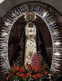 Imagen Virgen de los Dolores (Lanzarote)