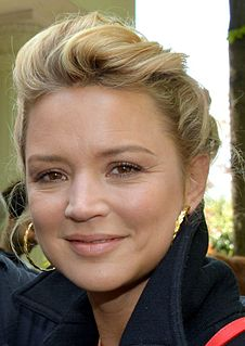 Virginie Efira Belgian actress and television presenter