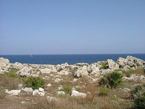 Vista Capo Murro di Porco