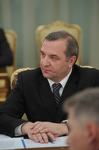 Ministry of Emergency Situations (Russia) - Vladimir Puchkov, the Minister since May 2012