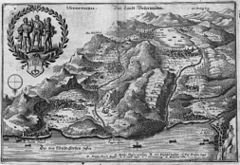 1642 map of Underwalden (Matthäus Merian)