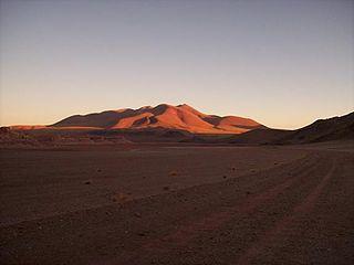 Cerro Ratones mountain in Argentina