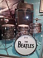 Vox Super Beatle amplifier, Beatles Ludwig drumset, Museum of Making Music.jpg