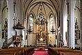 Währing (Wien) - Weinhauser Pfarrkirche, innen.JPG