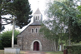 The chapel of Saint-Michel-du-Bois, in La Roche-Blanche