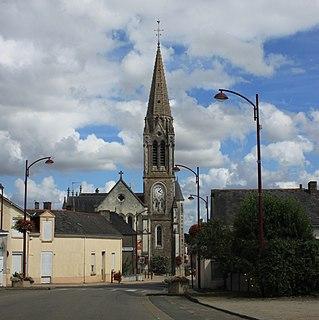 Les Touches Commune in Pays de la Loire, France