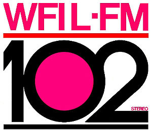 WIOQ - WFIL-FM's early logo
