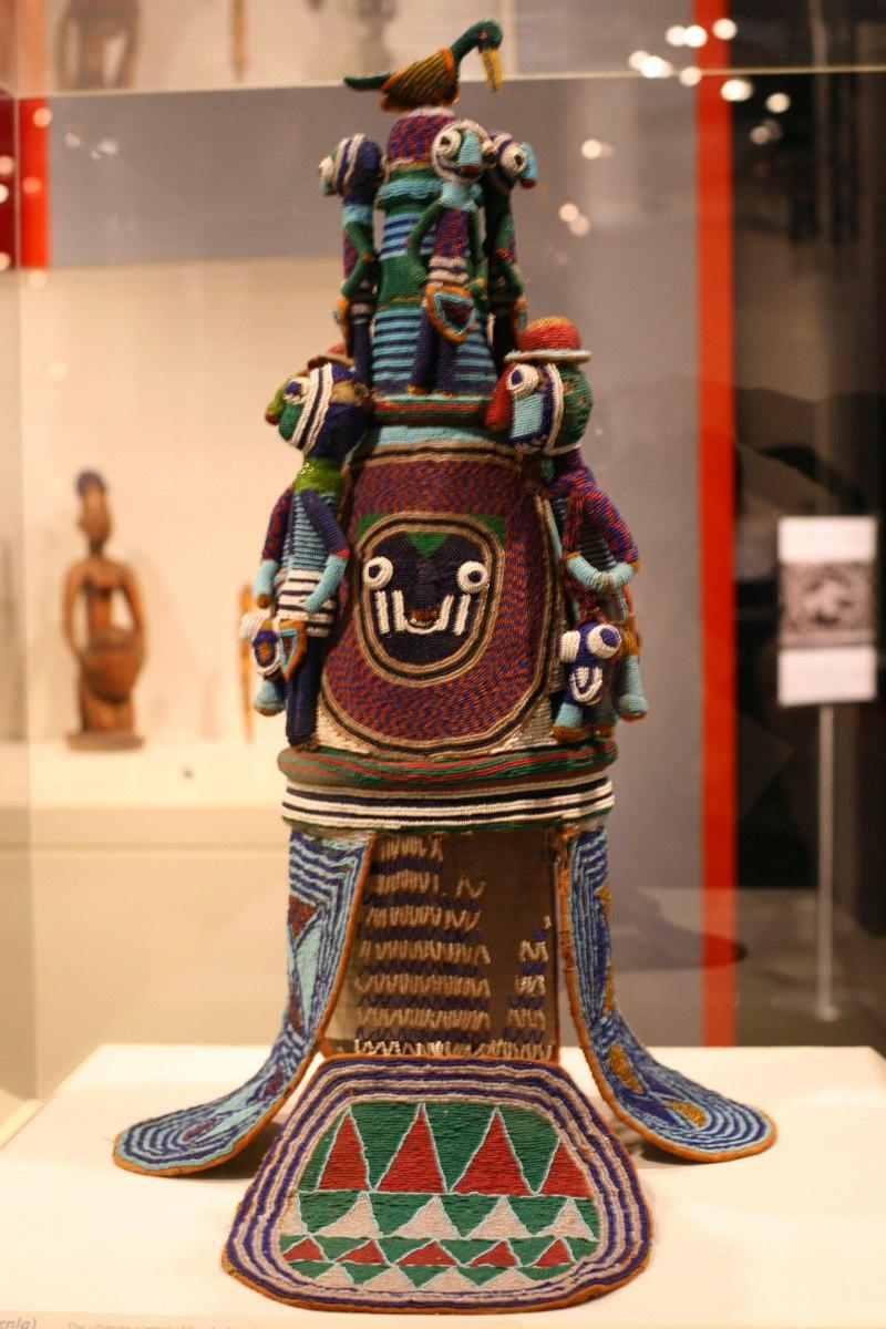 WLA brooklynmuseum Yoruba Beaded Crown