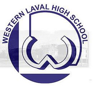 Western Laval High School - Logo after the Move.