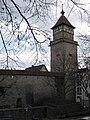 Waiblingen Stadtmauer mit Hochwachtturm (MTheiler) 2017 E.jpg