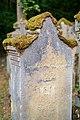 Waibstadt - Jüdischer Friedhof - Neuer Teil Reihe 2 - Grabstein Sophie Ottenheimer aus Bonfeld - Rückseite 1.jpg