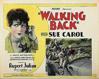 <i>Walking Back</i> 1928 film