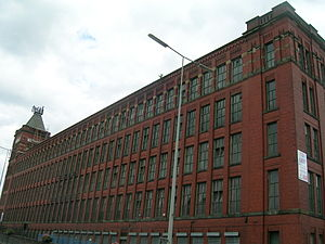 Middleton, Greater Manchester - Warwick Mill is a former cotton mill in Middleton