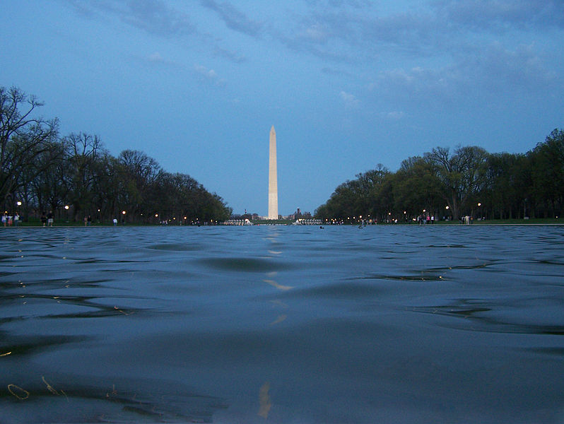 File:Washington Monument Reflecting pool.JPG