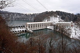 Mühleberg - Mühleberg power plant