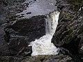 Waterfall in gorge near Monessie - geograph.org.uk - 664859.jpg