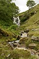 Waterfall on Little Moor Beck - geograph.org.uk - 879147.jpg
