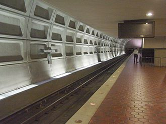 Green Line (Washington Metro) - Waterfront Metro station was mothballed during the construction controversy over the Green Line.