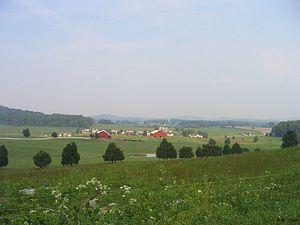 Wayne County, Kentucky - Farmland in Wayne County
