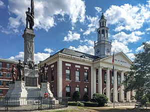 Webster, Massachusetts - Town Hall, Webster, Massachusetts