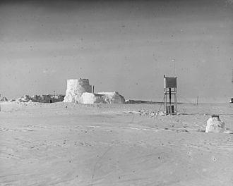 Eismitte - Station Eismitte in 1930