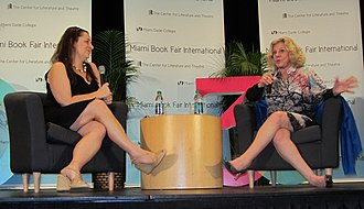 Erica Jong - Jennifer Weiner and Erica Jong at the Miami Book Fair International 2013