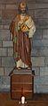 Werl, denkmalgeschützte Propsteikirche, Heiligenfigur in der Taufkapelle.JPG