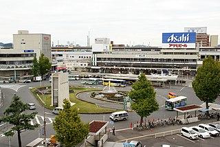 Tokuyama Station Railway station in Shūnan, Yamaguchi Prefecture, Japan