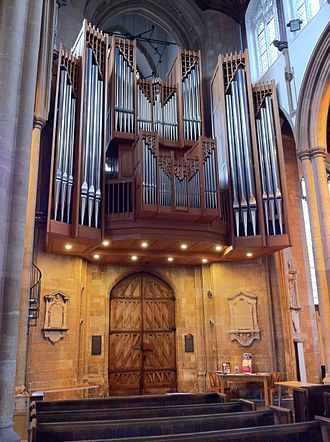 St Peter Mancroft - Organ by Peter Collins of 1984