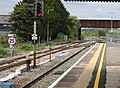 Westbury railway station, view from the west, Wiltshire, England.jpg
