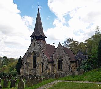 Westcott, Surrey - Holy Trinity Church in Westcott