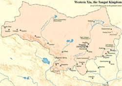 Western Xia i 1150