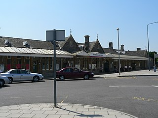 Weston-super-Mare railway station Main railway station for Weston-super-Mare, England
