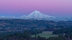 View of Mount Hood from Sandy