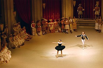 Black Swan (film) - The scene from the ballet Swan Lake in which the Black Swan (Odile) tricks and seduces the Prince