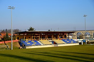 SV Neulengbach - Home ground Wienerwaldstadion in February 2015