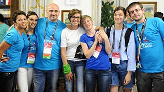 Wikimania 2016 - Day 3 - Volunteers 02.jpg