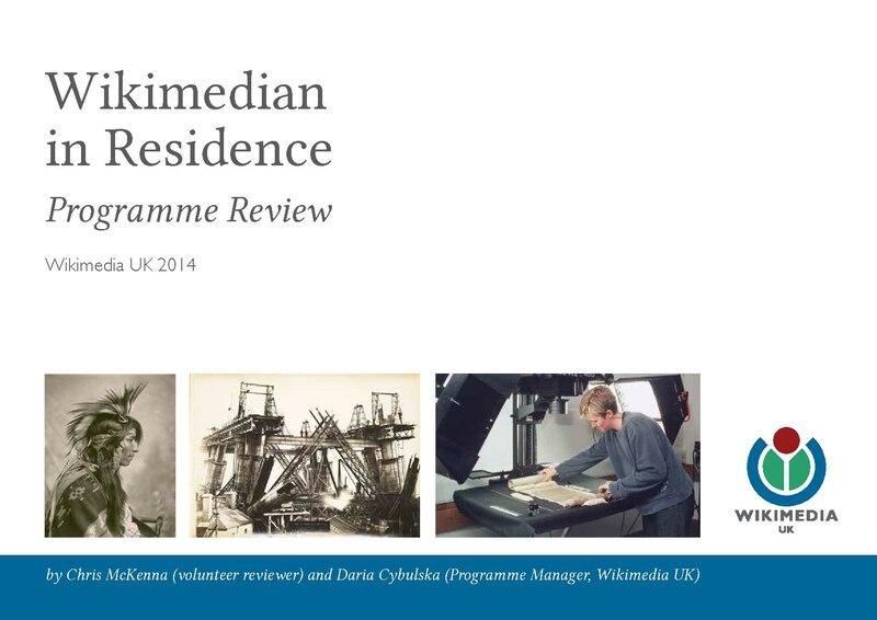 File:Wikimedian in Residence Programme Review - WMUK 2014.pdf