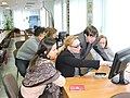 Wikiworkshop at Library of S. Kuznets KhNUE 2019-02-13 by Наталія Ластовець 20.jpg