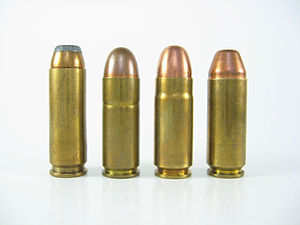 .45 Magnum - Image: Wildey Cartridges